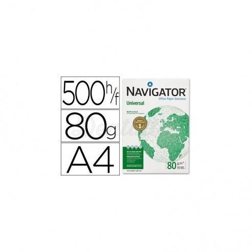 Papel Din A4 Navigator 80 gr multifuncion Img: 201807281