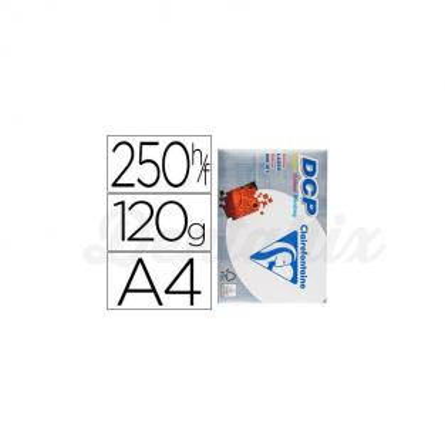 Papel multifuncion laser color DCP Din A4 120 g/m2 Img: 201807281