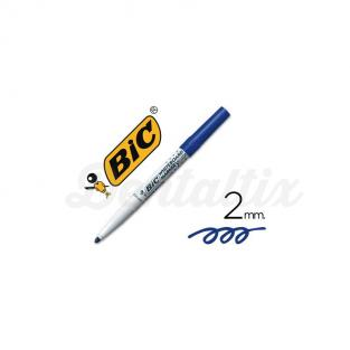 Rotulador velleda azul Bic Img: 201807281