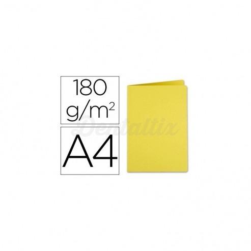 Subcarpeta cartulina Din A4 Liderpapel amarillo Img: 201807281
