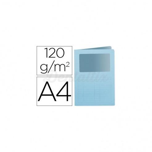 Subcarpeta cartulina Q-connect Din A4 azul Img: 201807281