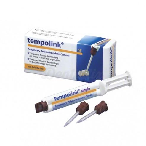 Tempolink® clear Cemento de fijación temporal