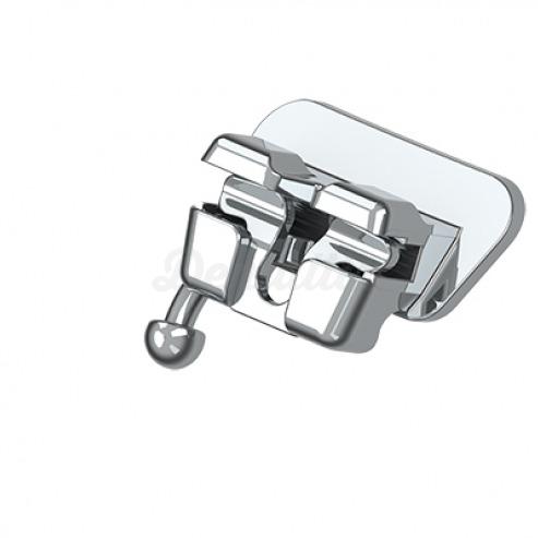 """Tubo Simple Autoligado EasyClip+ Adhesión Directa Interactivo Damon .022"""" LL -28°T E 2°A 2°OFF. 1 Unidad        Img: 202003141"""