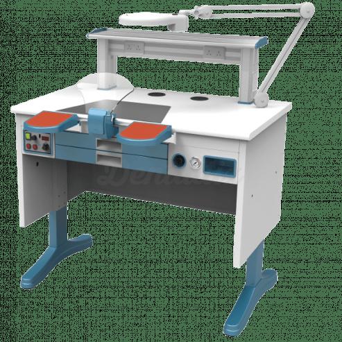 Mesa de Laboratorio Monopuesto JT-52 (B) 1m. con Aspiración Img: 201807031