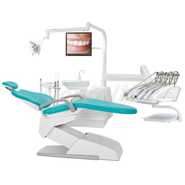 Sill n dental v200 victor con micro motor de inducci n agm for Mobiliario y equipo ergonomico