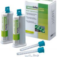 Greenbite Colour - Material de Registro de Mordida-8 cartuchos dobles de 50 ml Img: 202001041