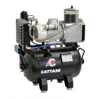 Compresor de 1 cilindro con secador de aire de Cattani