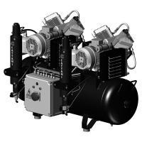 AC 400: Compresor en Tándem de 2 Cilindros - Monofásico 230 V Img: 202105221