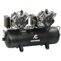 AC 410: Compresor de 2 Cilindros para Fresadoras Cad Cam - Monofásico 230 V Img: 202105221
