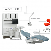 Sillón A-dec 500 12 O'clock System Img: 201807031