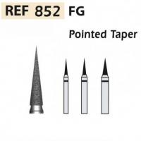 Fresas diamante  852-FG Cono en punta F.G. turbina (5u.) (852-012 C VERDE) Img: 201807031