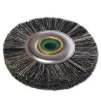 Cepillo de pelo para pulido gris suave