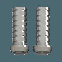 Cilindro Ti provisional para prótesis directa a implante conexión externa 4.0 mm  - Rotatorio - Implantes 4.0mm (5.u) Img: 201812221