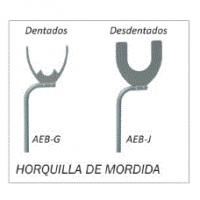 HORQUILLA DE MORDIDA AEB J PARA DESDENTADOS