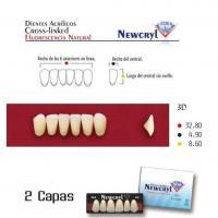 dientes newcryl vita 3P up A1