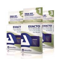 EXACTO - TRIAL KIT PERNOS TRANSLÚCIDOS Nº1 (5 pernos + 1 fresa)