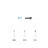 Fresa H7 Carburo Tungsteno para CA (5u) Img: 201807031