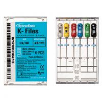 Limas K-Files de 25 mm (6 uds)