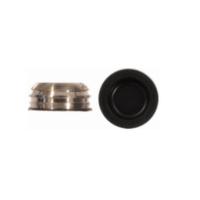 Gomas de recambio para Pilares Long Click Negra + Cazoleta (4x)