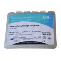 Stainless Steel K Files: Limas de Acero Inoxidable de 25 mm (6 uds)