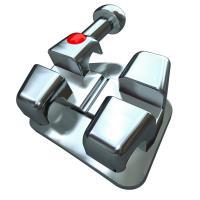 """Bionic™ Bracket  Metálico V-Slot  .018"""" UR1 10u. Img: 201807031"""