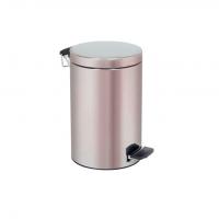 CUBO INMOCLINC cilindrico acero inox c/pedal 12 l Img: 201807031