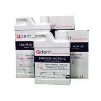 QDENT SEMIFLEX ACRYLIC LIQUIDO 125 ML PARA BASE Img: 201810271