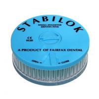 Stabilok: postes de acero inoxidable Azul 0.6 mm (100 uds + 5 fresas)