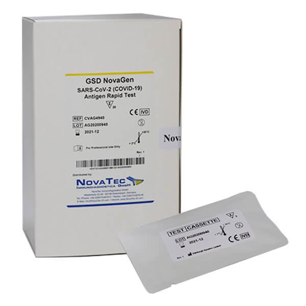 Kit de prueba rápida de Antígeno de SARS-CoV-2