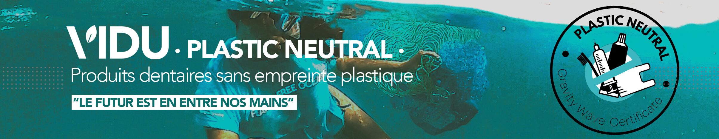 VIDU nueva marca plastic neutral de productos dentales ecológicos