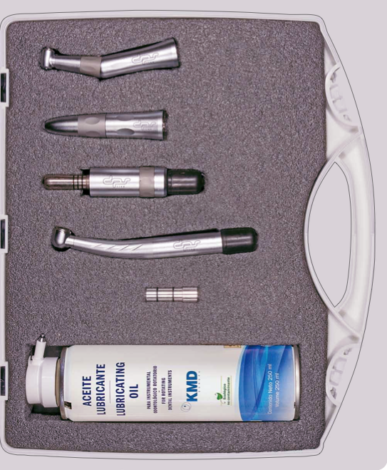 Kit instrumental rotatorio estudiantes odontologia
