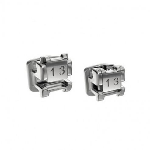 Brackets auto-ligaturants Mint y compris les tubes - ROTH et MBT (Kit 28 unités) - ROTH. 0,22 Img: 201807031