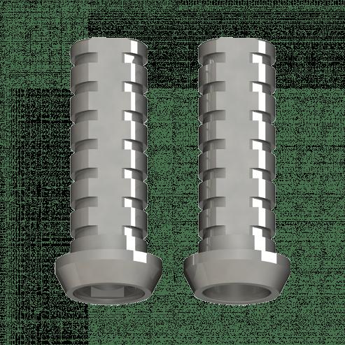 Prothèse directe provisoire Ti Cylinder Connexion externe de l'implant Connexion externe Plate-forme régulière - Rotatoire - Implants 4.0mm Img: 201907271