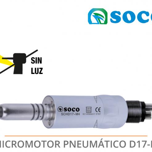 MICROMOTEUR PNEUMATIQUE D17-M Img: 201807031
