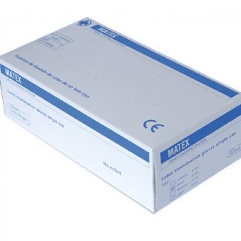 MATEX gants de latex SANS poussière XS (10x100u.  DESECHABLES  Img: 201807031