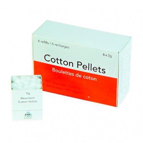 PELLETS 6mm. Nº2 coton  Img: 201807031
