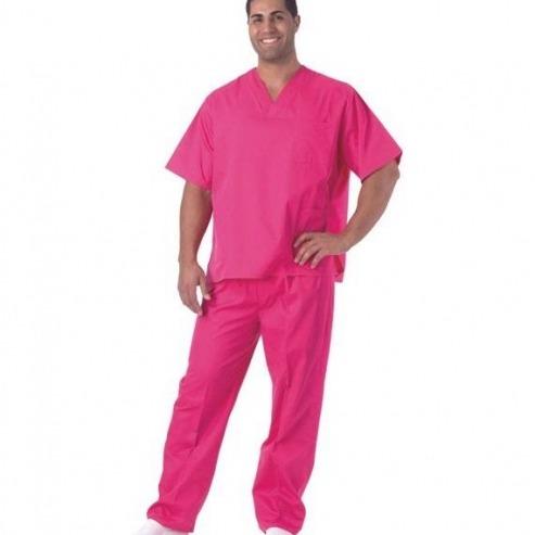 Pyjama Homme/Femme en serge - Couleurs variées-Taille S - Jaune Img: 202006201