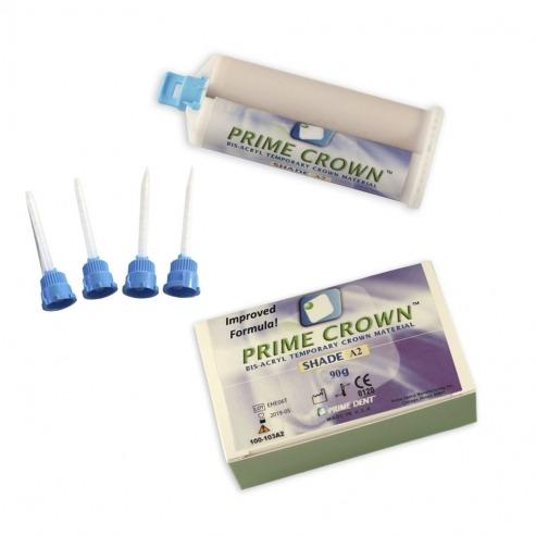 Prime Crown résine Bis-acrylique photo-polymérisable  p/temporaires - A2 Img: 201807031