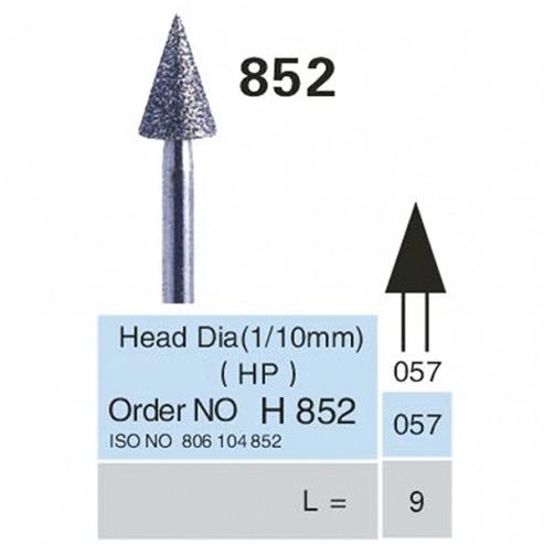 FRAISES DIAMANTÉES 852-HP x5u. (852.057-9) Img: 201807031