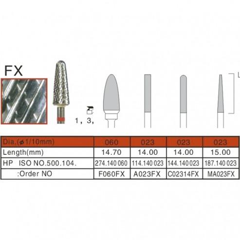 Fraises carbure de tungstène ISO.194.140.023 X 1UD.  Img: 201807031