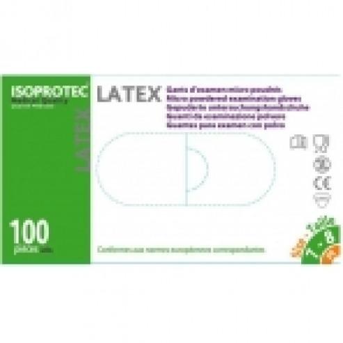 LATEX NO ESTERIL gants ISOPROTEC taille L (10x100u)  Img: 201807031