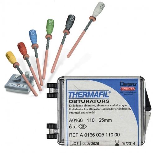 THERMAFIL - OBTURATEURS 25 mm 6 unités Nº20  Img: 202101091