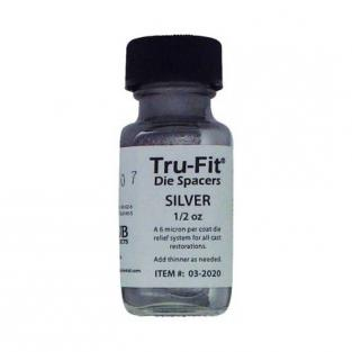 Tru-Fit : Vernis couleur argent pour matrices (15 ml) Img: 202008291