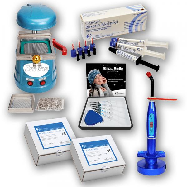Et Blanchiment Lampe Led Dentaire Machine Thermoformage Pack De POTkZiuwX