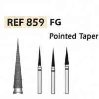 Diamond 859 Fraises à pointe conique à turbine F.G. (5u.) (859-016 SC NOIR) Img: 202008081