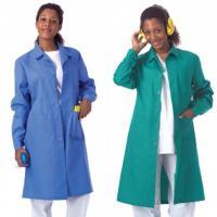 Blouse de laboratoire femme (Diverses couleurs) - Taille 60 - Vert Img: 202005231