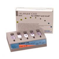 EMAX IPS CAD CEREC / inLab LT A1 C14 5 unités Img: 202101091