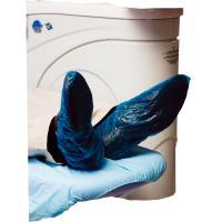 PROTÈGE-CHAUSSURES AVEC ELASTIQUE PLASTIQUE PVC BLEU (100u.)  Img: 202005231