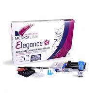 Elegance : Intro Kit Composite nano-hybride (5 ser x 4g + adhésif) + Muestra A2 + Caja de Fresas Img: 202105011
