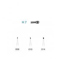 Fraise de carbure H7 pour AC (5u) Img: 201807031